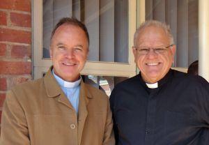 Fr Gordon (left) & Fr Kim