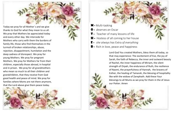 Mother`s day prayer leaflet1