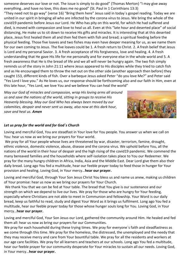 Sermon, prayers, notices & puzzles1