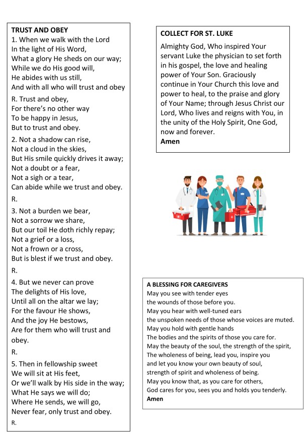 Homily on Moses' leadership prayers notices & puzzles-2
